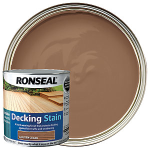 Ronseal Decking Stain - Golden Cedar 2.5L