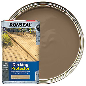 Ronseal Decking Protector - Natural Oak 5L