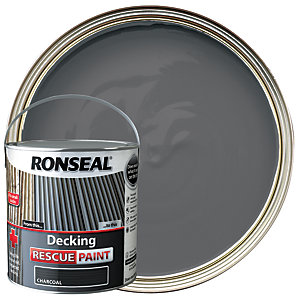 Ronseal Rescue Decking Paint - Charcoal 2.5L