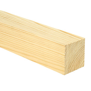 Wickes Whitewood PSE Timber - 69 x 69 x 2400 mm
