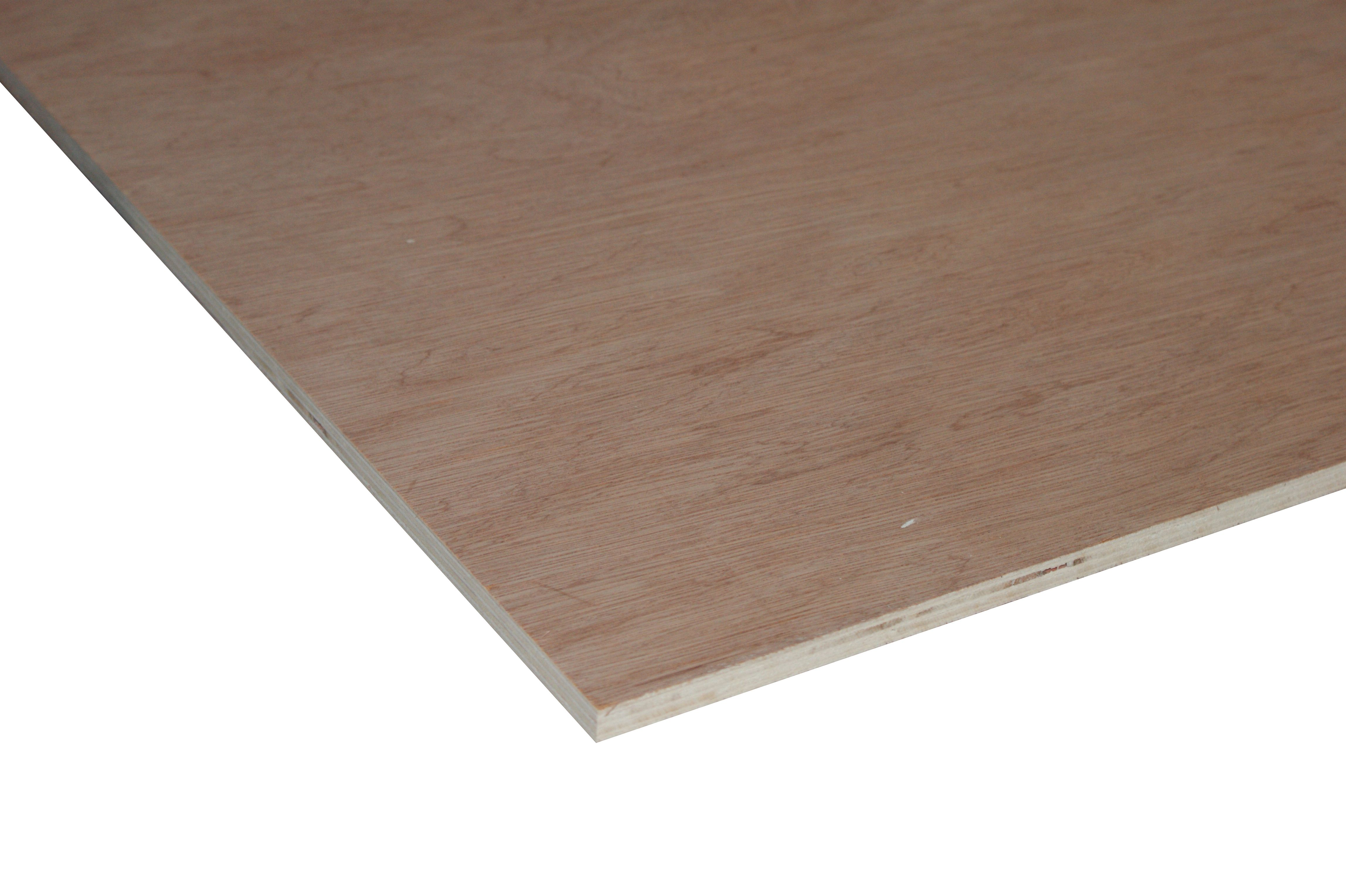 Wickes Non Structural Hardwood Plywood   12mm X 1.22m X 2.44m by Wickes