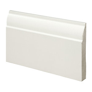Wickes Ovolo Fully Finished Skirting - 18mm x 119mm x 3.6m Pack of 2