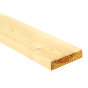 Wickes Redwood PSE Timber - 20.5mm x 94mm x 3.6m