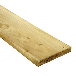 Wickes Treated Sawn Timber - 22 x 150 x 3000 mm