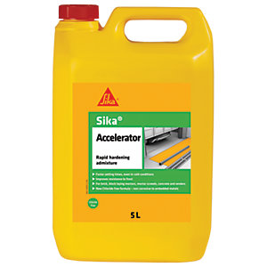 Image of Sika Accelerator Rapid Hardening Admixture - 5L