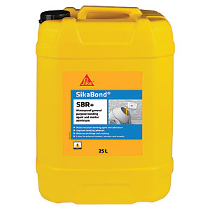 Image of Sika Bond SBR+ Waterproof Bonding Agent Admixture - 25l