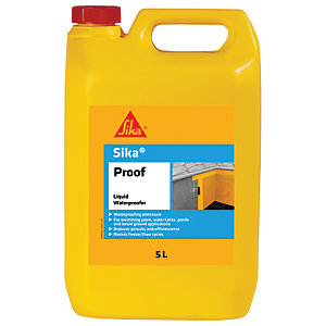 Image of Sika Proof Liquid Waterproofing Admixture - 5L