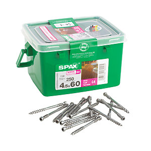 Spax Decking Screws - 4.5 x 60mm Pack of 250