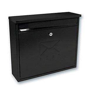 Image of Sterling MB02BK Elegance Post Box - Black