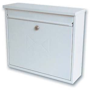 Image of Sterling MB02 Elegance Post Box - White