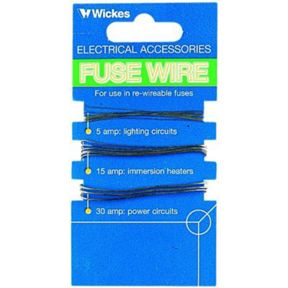 Wickes Fuse Wire - Pack of 3 on