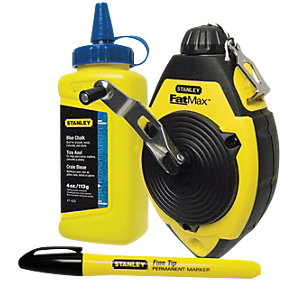 Image of Stanley 0-47-681 FatMax Chalk Line Set - 30m