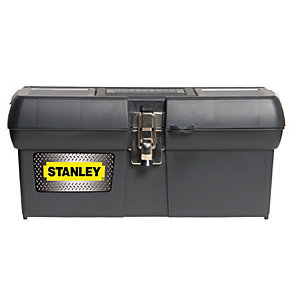 Stanley 1-94-857 Metal Latch Toolbox - 16in