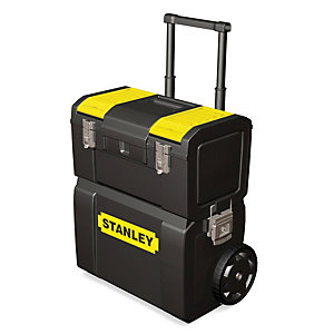 Stanley 1-70-327 2 In 1 Mobile Work Centre Toolbox
