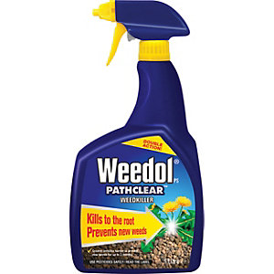 Image of Weedol Path & Patio Ready to Use Weedkiller - 1L