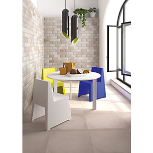 Image of Wickes Bevel Stone Effect Ceramic Wall Tile 200 x 100mm