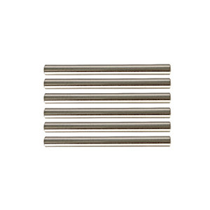 Wickes T Bar Door Handle - Brushed Nickel 135mm Pack of 6