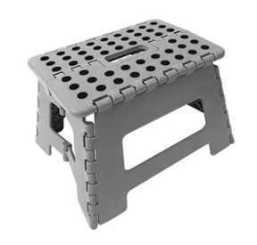 Terrific Wickes Plastic Folding Step Stool Grey Beatyapartments Chair Design Images Beatyapartmentscom