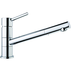 Wickes Tuya Single Lever Kitchen Mixer Sink Tap - Chrome