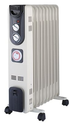 41cf1c19cc9 Wickes Electric Oil Filled Thermostatic Radiator - 2kW