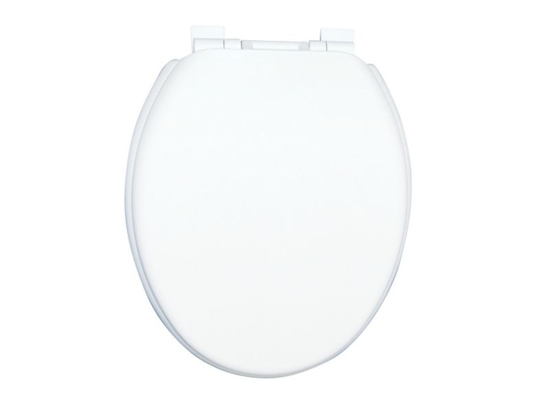 Wickes Thermoplastic Soft Close Toilet Seat - White