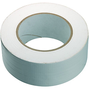 Wickes Cloth Duct Tape White - 48mm x 50m