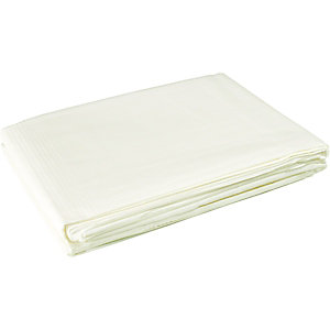 Image of Wickes Absorbent Polythene Dust Sheet - 2.7 x 3.6m