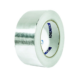 Wickes Self Adhesive Foil Tape - 50mm x 45m