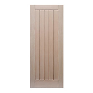 Wickes Geneva Oak Cottage Internal Fire Door - 1981mm x 686mm