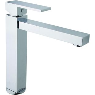 Wickes Clear Monobloc Kitchen Sink Mixer Tap - Chrome | Wickes.co.uk