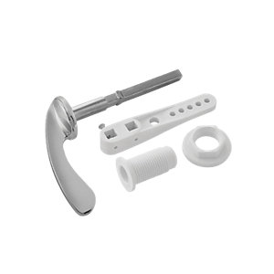Image of Wickes Standard Cistern Lever - Chrome