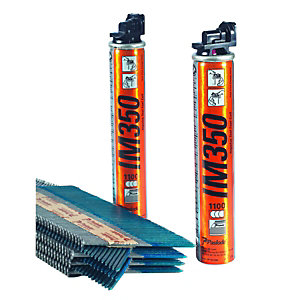 Image of Paslode 141235 Hot Dipped Galvanised Straight Nail Fuel Pack - 90 x 3.1mm