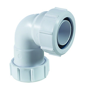 McAlpine Multifit MS4-ISO 90 Deg Pipe Elbow - 32 x 32mm