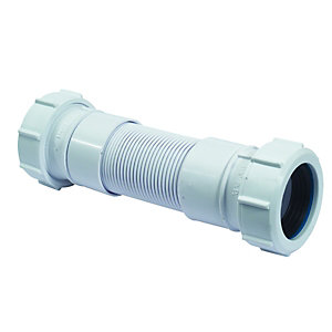 Image of McAlpine Flexcon3 Flexible Pipe Connector - 32 x 250mm