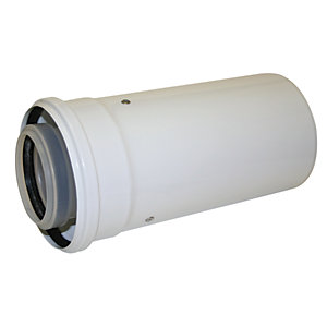 Image of Worcester Bosch Boiler Condensfit II 60/100mm Short Telescopic Flue Extension Kit - 220mm