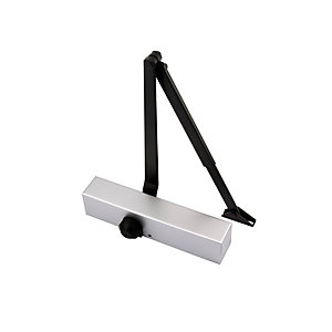 Image of 4TRADE FD100 Size 2-4 Door Closer - Silver