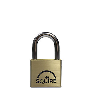 Squire LN4 Lion Padlock - Brass 40mm