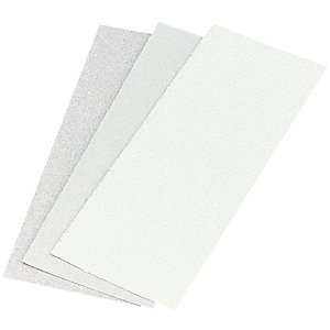Wickes 1/3 Orbital Sanding Sheet Paper - Pack of 10