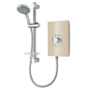 Triton Electric Shower - Riviera Sand 8.5kW