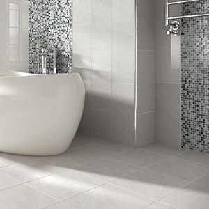 Wickes Glass Mosaico Mosaic Tile - 300 x 300mm