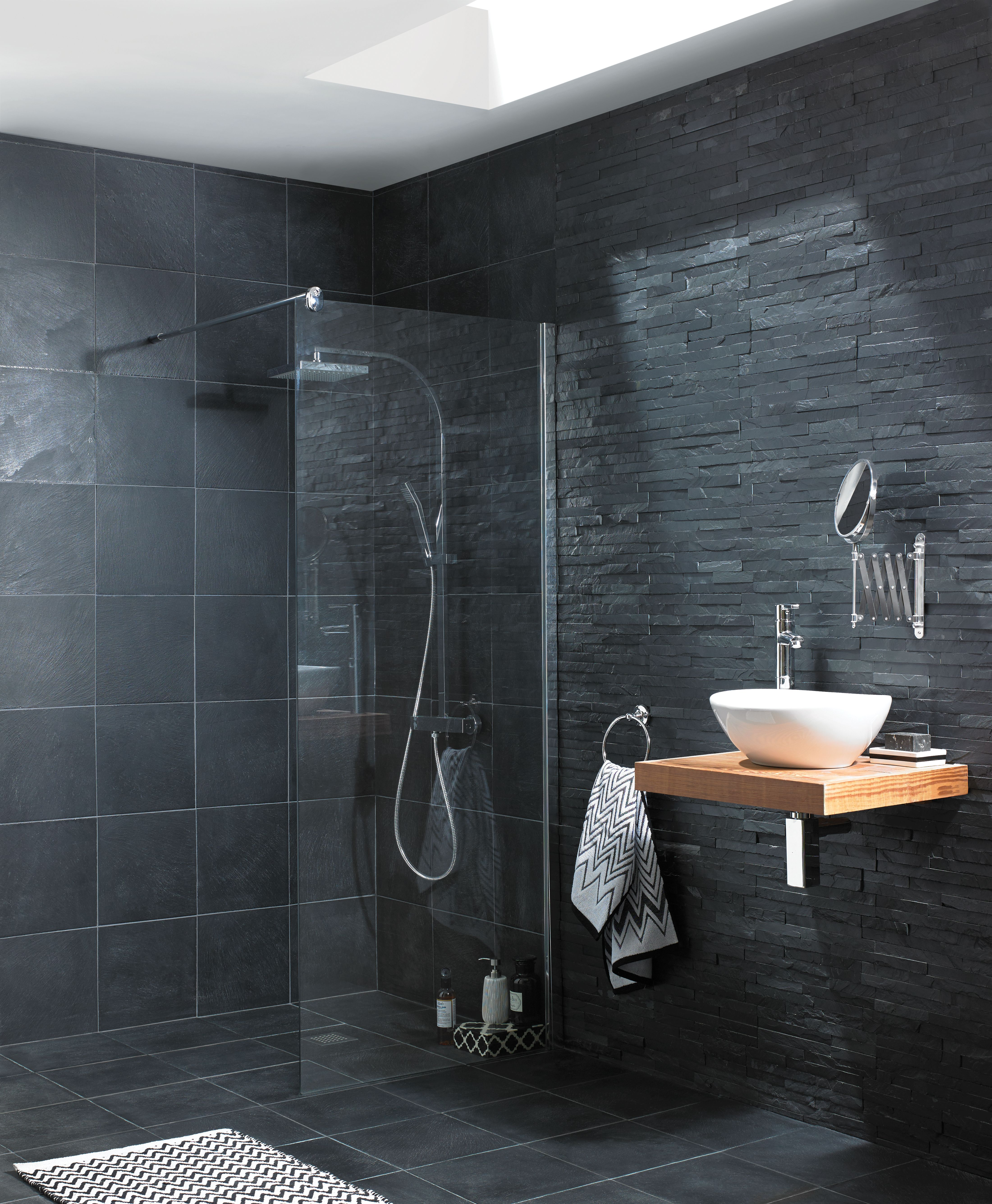 Wickes Slate Riven Grey Natural Stone Tile 300 X 300mm | Wickes.co.uk Nice Design