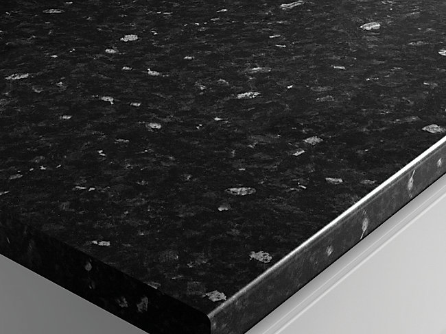Black Slate Effect Laminate Worktop