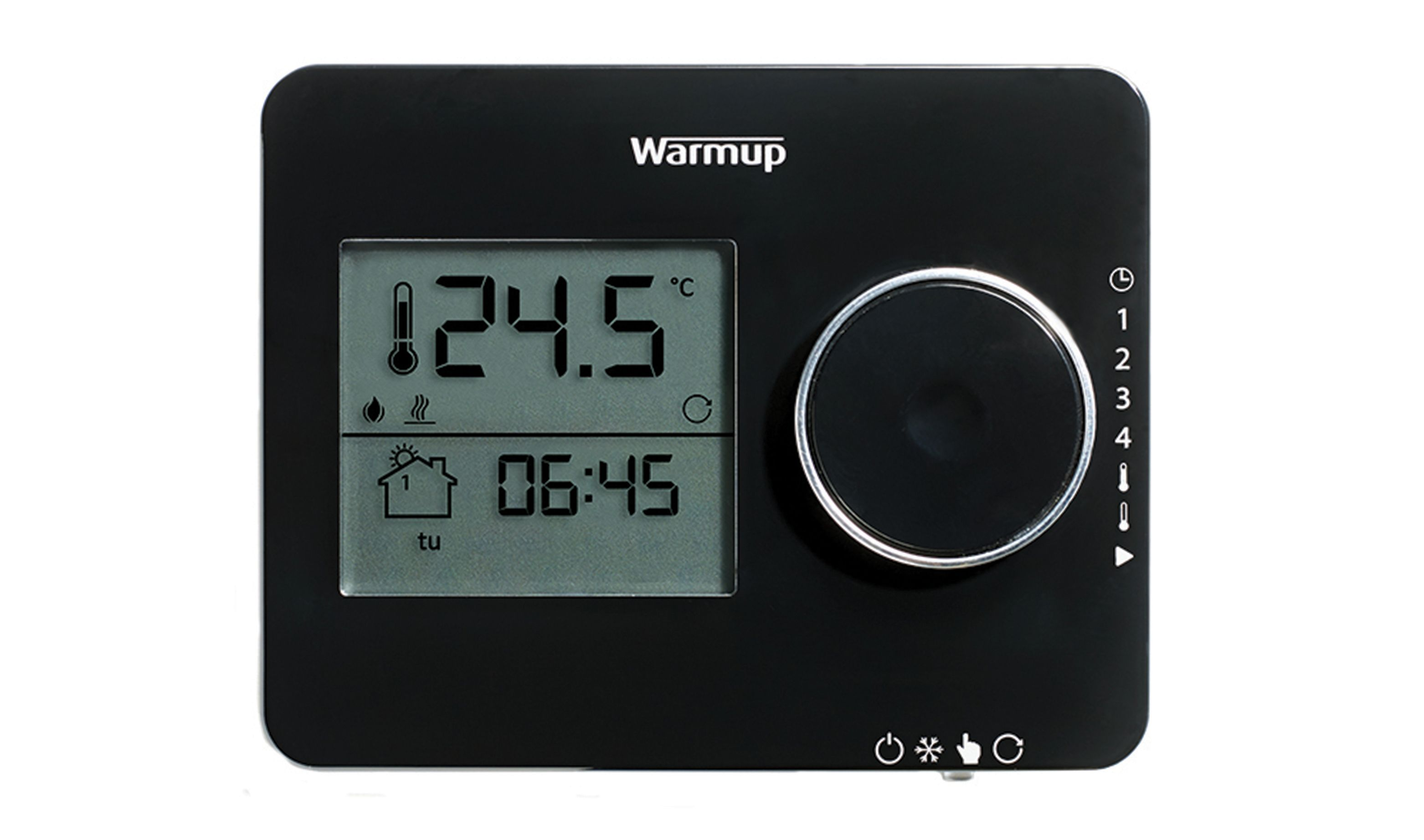 Wickes Underfloor Heating Wiring Diagram Electrical Diagrams In Addition Warmup Tempo Black Thermostat Co Uk Floor Heat