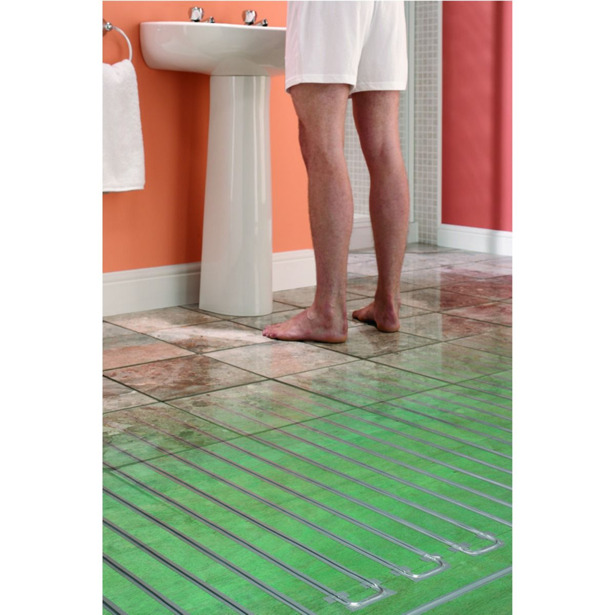 wickes underfloor heating system 300w