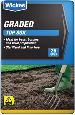 Wickes Multi-Purpose Top Soil - 25L
