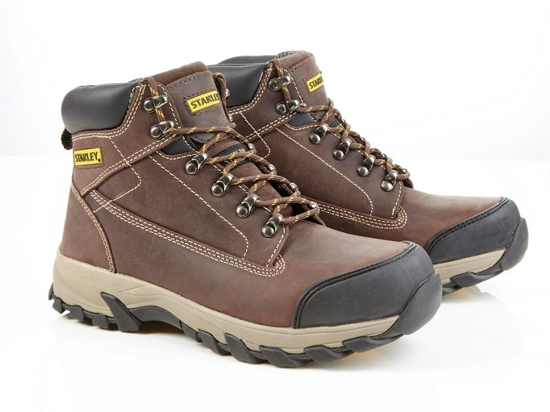 Stanley Milford Safety Boot - Brown Size 7
