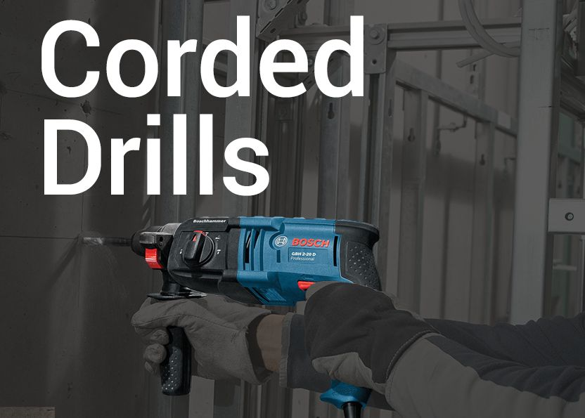 Bosch Professional Corded Drills