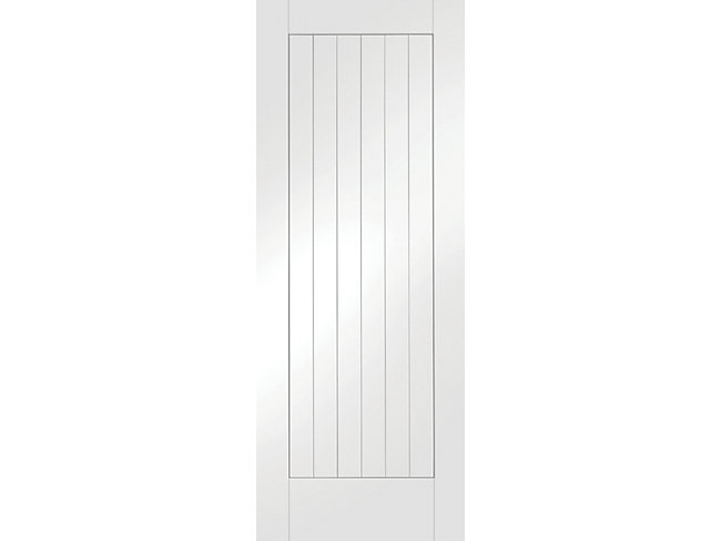 Geneva White Softwood Cottage Internal Door