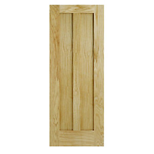 Wickes Oxford Oak 1 Panel Shaker Internal Fire Door - 1981mm x 686mm