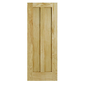 Wickes Hitchin Oak 2 Panel Internal Door - 1981mm x 838mm